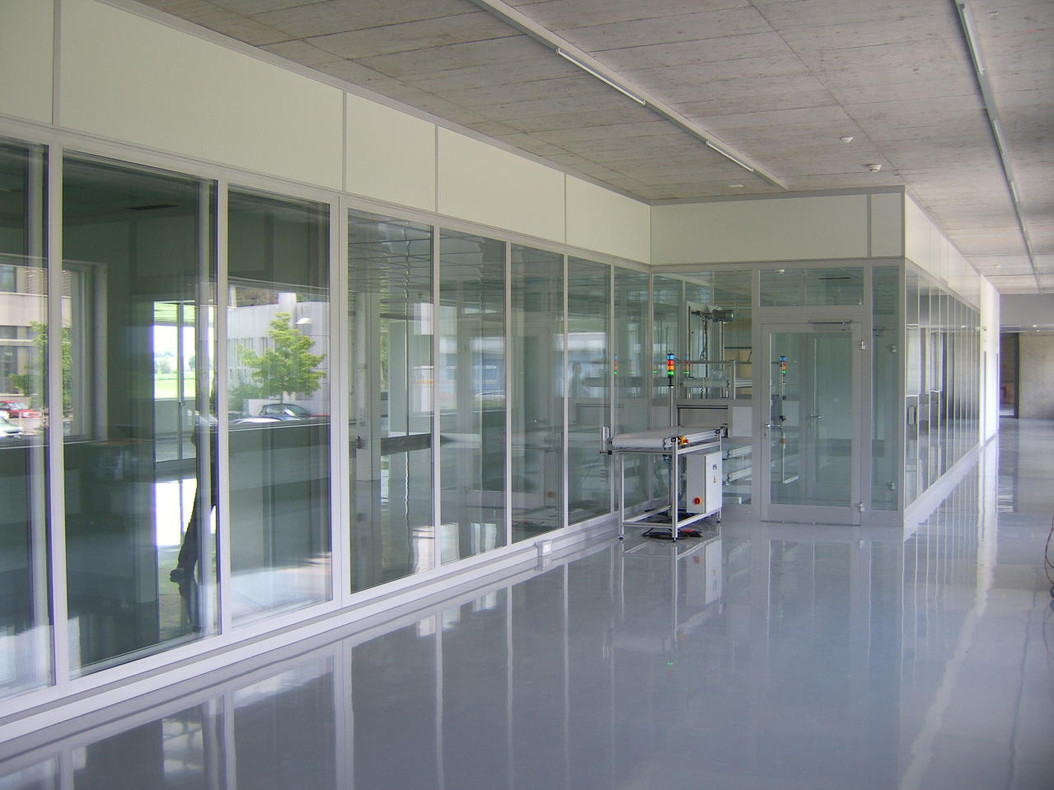 Wall Systems With Floor To Ceiling Glazing Octanorm