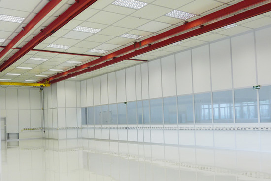 Ceiling Systems with 200 kg/m²  maximum capacity